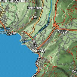 Karte Italien Gardasee.Trails Mountainbike Karte Gardasee